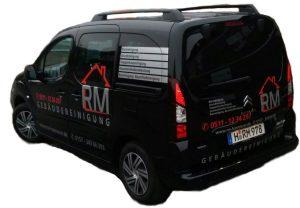 RM Gebäudereinigung Fahrzeug
